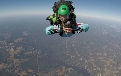 Past and present experiences of skydiving