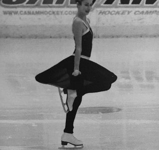 Tess Szatkowski aspires to continue ice skating for many years to come