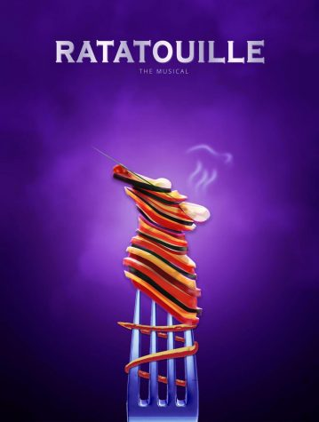 The official virtual playbill for the Ratatouille Musical made by Jess Siswick