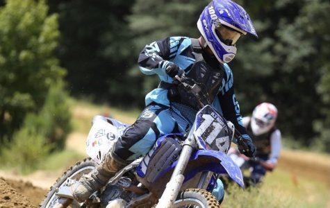 Junior seeks adrenaline rush in motocross