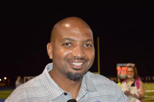 Marcellus Bland enjoys watching Deep Run play Godwin at the homecoming football game.